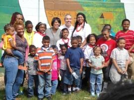 Mayor Rawlings-Blake Smart Steps Program HNSJ